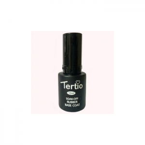 Tertio soak-off rubber base coat 10 мл