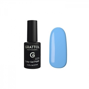 Grattol Color Gel Polish Ice Blue 089
